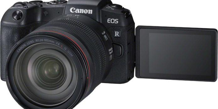 Nowy bezlusterkowiec pełnoklatkowy Canona